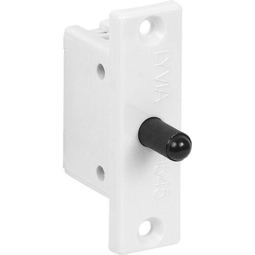 Nouveau plat blanc plaque à mortaise porte interrupteur push to break 2A chaque