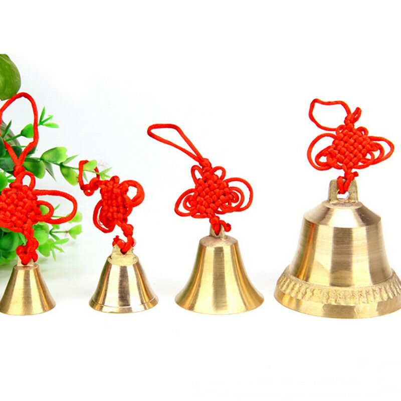 Metal Christmas Wind Chime Hanging Bells Pendant Door Decoration Supplies FB