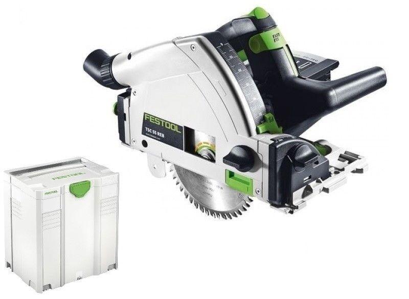 Festool TSC 55 REB-Li Basic Akku-Tauchsäge 201395 ohne Akku und ohne Ladegerät