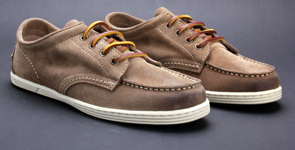 Buffalo Schuhe ES 1132 Suede Stone 01