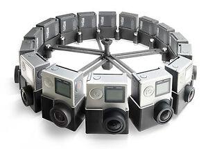 360-Modular-Spherical-VR-Panorama-Rig-like-Google-Jump-Odyssey-f-16x-GoPro