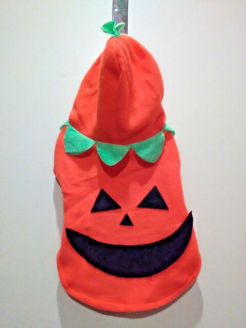 Happy Halloween Jack'O Lantern Costume for Dogs Size S /M ...