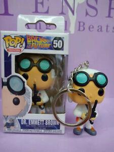 Funko-pop-key-chain-back-to-future-dr-emmett-brown-regreso-al-futuro-tv-llavero