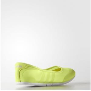 Details zu Adidas Sunlina Damen Neo Grün Sommer Schuhe Komfort Ballerinas Brandneu Kiste