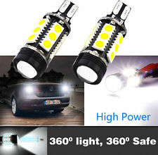 2 x Extreme Bright 7W Xenon White 921 T15 912LED Backup Reverse Fog Light Bulbs》