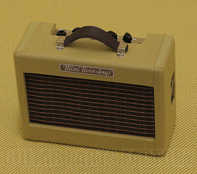 023-4811-000 Tweed New Fender Mini /'57 Twin-Amp Electric Guitar Amplifier