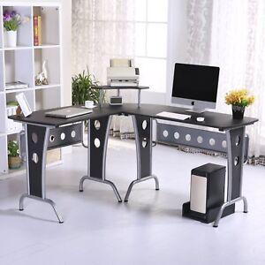 Mesas-de-Ordenador-165x145x86cm-Oficina-Escuela-PC-Torre-Mesa-Escritorio-Estudio