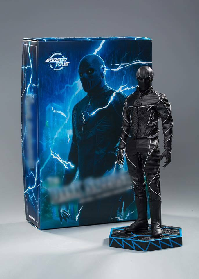 Dark Speedster 1 6 Figure aka Zoom - SooSoo Toys - No Hot Toys