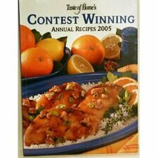 Taste of Home's Contest Winning Annual Recipes 2005 by Taste of Home Books Staff (2005, Hardcover)