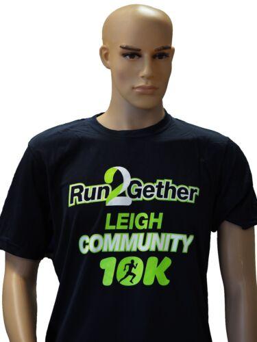 Leigh 10k Finisher Tech Tee Shirt Running New 2018