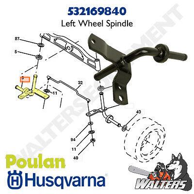 Wheel Spindle Kit 175131 532169839 532169840 Husqvarna Axle