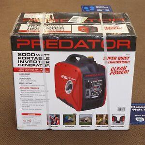 Predator 62523 2000W Super Quiet Portable Inverter Gas Generator NEW! SEALED!