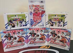 Baseball Mix Box Break - Random Team-Bowman Megas, Topps Series1 & OD-371 Cards