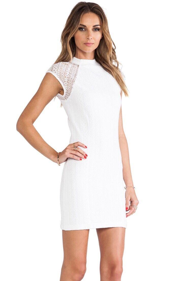 TORN BY RONNY KOBO Rosalind Dress Geo Retail   (NWT)