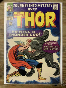 Journey-Into-Mystery-118-Marvel-Comic-Book-1st-Destroyer-VG