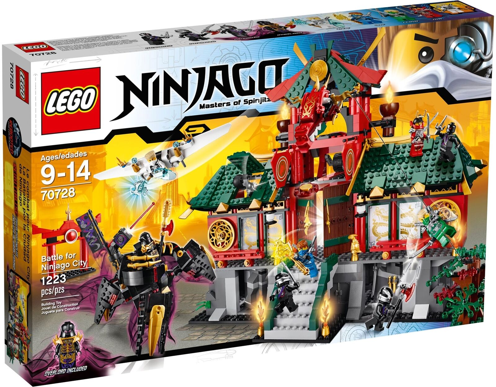 LEGO ® Ninjago 70728 NINJAGO CITY NUOVO OVP _ Battle for NINJAGO CITY NEW MISB NRFB