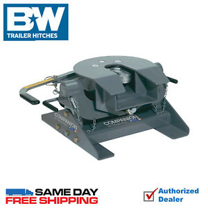 Details About B W Companion 5th Wheel Hitch 20 000 Lbs Gtw Fits 2012 2020 Ford F250 F350