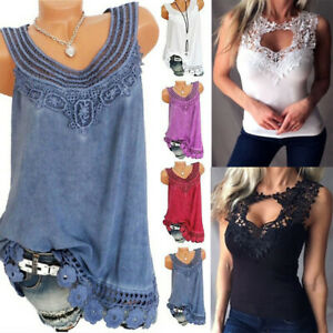 Sexy-Tank-Top-Women-Flower-Hollow-Strapless-Summer-Plus-Size-Camisole-Vest-Tops