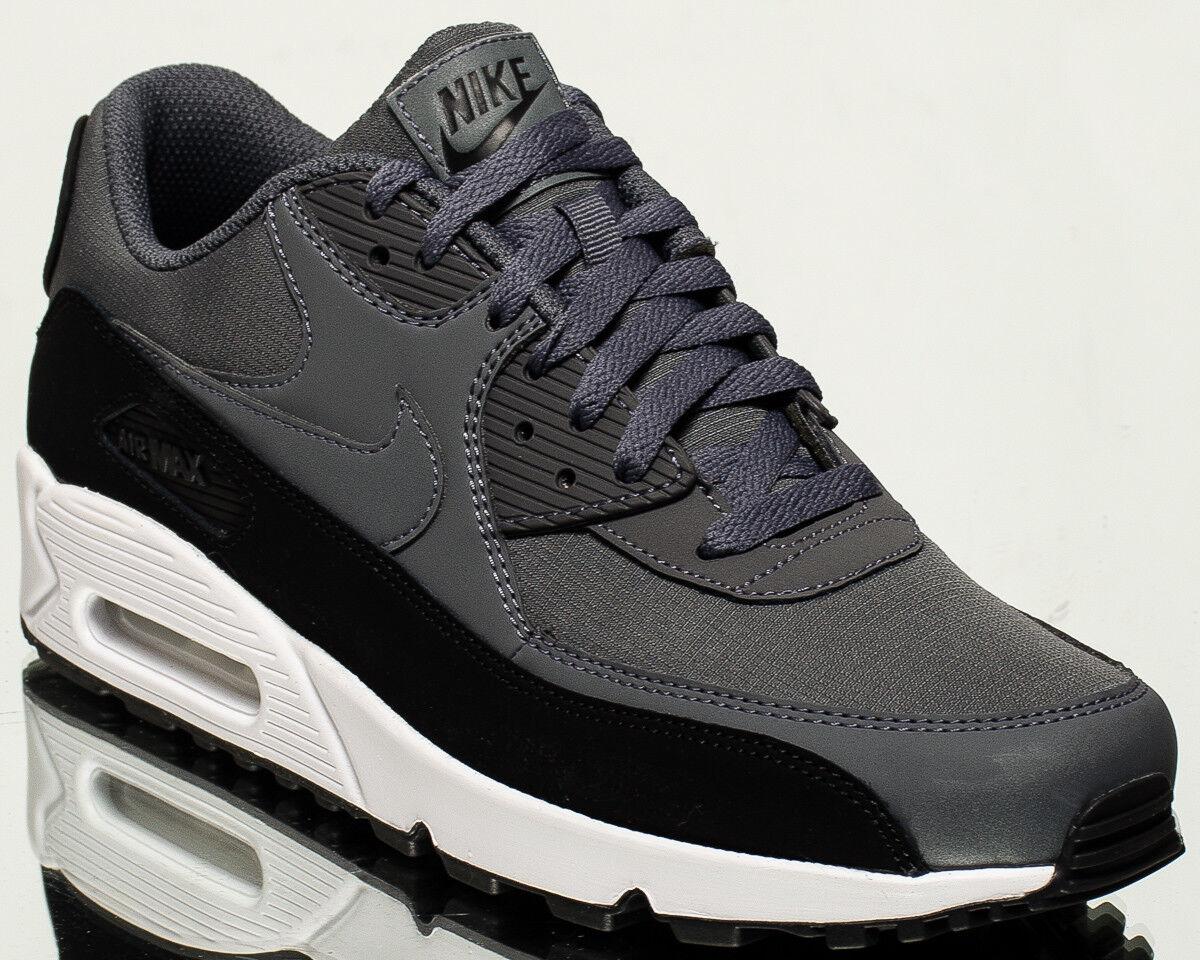Nike Air Max 90 Ätherische Herren Lifestyle Lifestyle Lifestyle Turnschuhe Neu Schwarz Dunkelgrau 4407d8