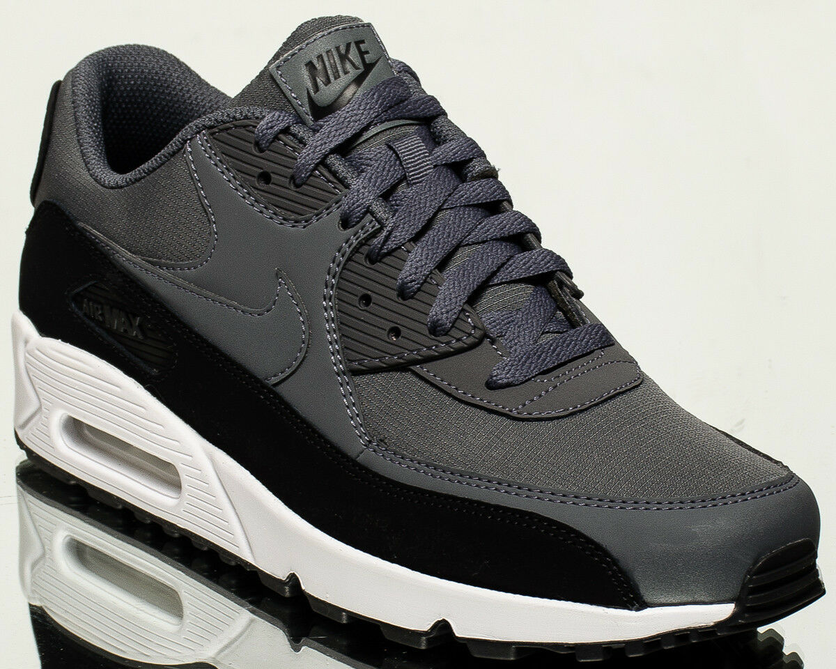 2098b9349e899 Nike Air Max 90 90 90 Essential men lifestyle sneakers NEW black dark grey  537384-