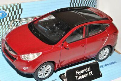 HYUNDAI ix35 TUCSON rosso a partire dal 2009 ca 1//43 1//36-1//46 Welly Modello Auto con o O..
