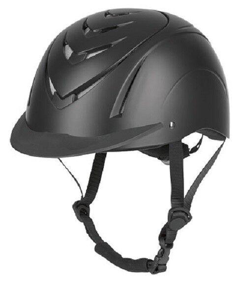 f42829f947e90 Kerbl Riding Helmet Horse Riding Hat Skull Cap Nerron Vg1 Size 55-59 Cm  32299 for sale online
