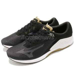 Mizuno-Wave-Sonic-Black-White-Brown-Men-Running-Shoes-Sneakers-J1GC1734-11