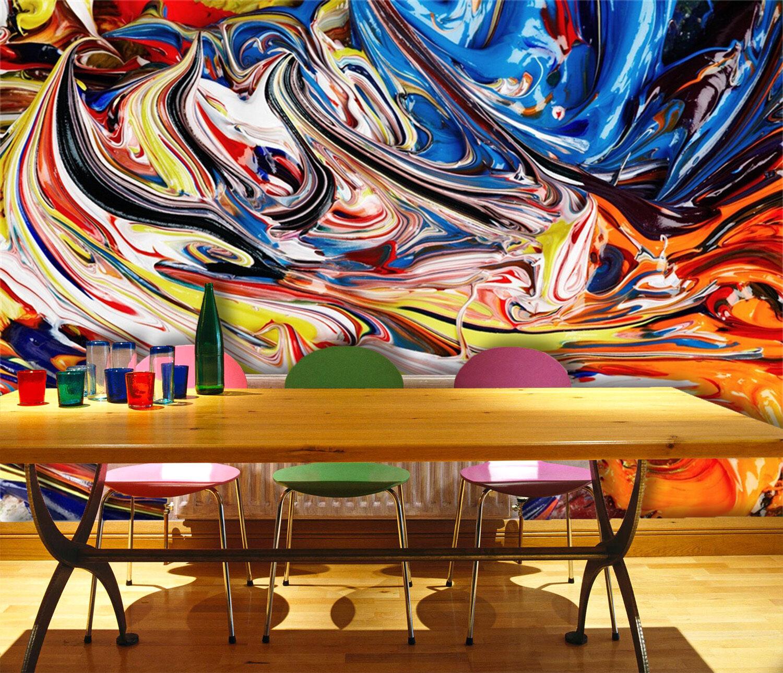 3D Bright colors 901 Wall Paper Wall Print Decal Wall Deco Indoor AJ Wall Paper