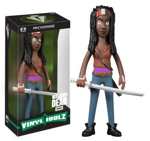 The Walking Dead los fanáticos Michonne 8 pulgadas de vinilo idolz Figura Vinilo azúcar Nuevo