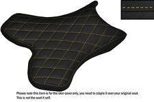 Agarre Diamante Amarillo Stitch Custom Fits Yamaha 1000 Yzf R1 04-06 delantera cubierta de asiento