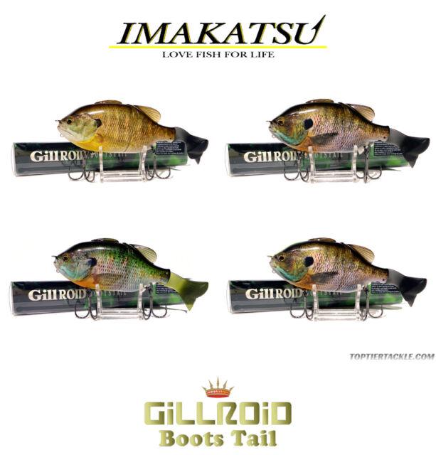 Imakatsu Gillroid Boots Tail Floating Swimbait Select Color s