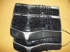 Microsoft KV-0462 Lot of 3 Ergonomic Keyboards *FREE SHIPPING*