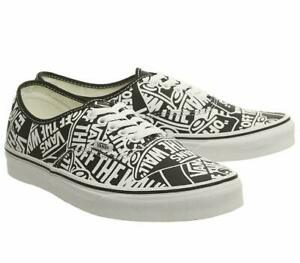 Vans-UA-Authentic-OTW-Repeat-Black-White-Men-Skate-Shoes-New-Sneaker-VN0A38EMUKK