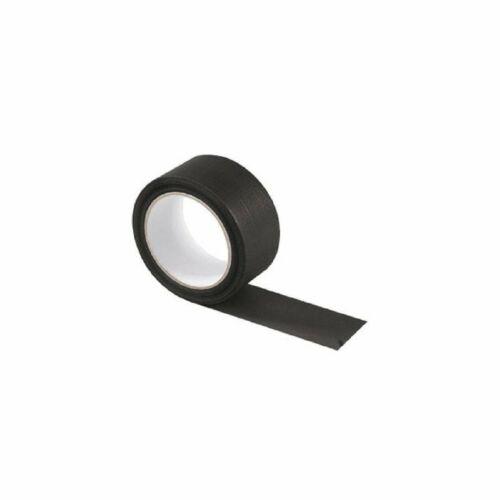 Canvas Elastic Tape Black 5 cm x 25 M American Adhesive strengthens seals