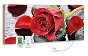Marmony-M800-Plus-800-Watt-Infrarotheizung-034-Red-Rose-034-inkl-MTC-40-Thermostat