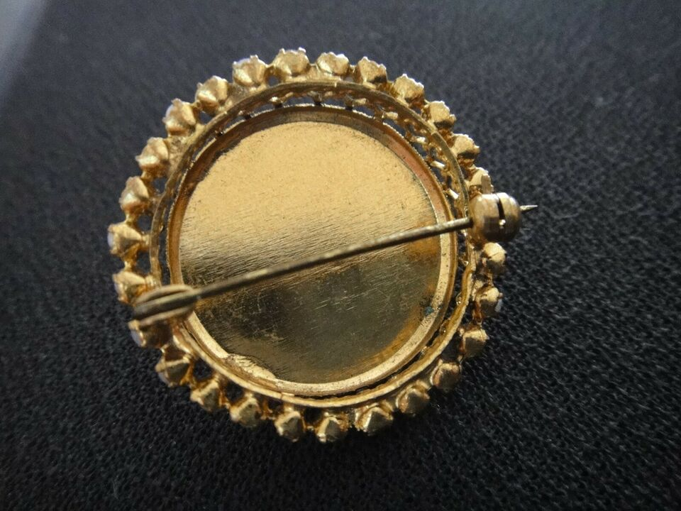 Broche, andet materiale, Vintage Broche