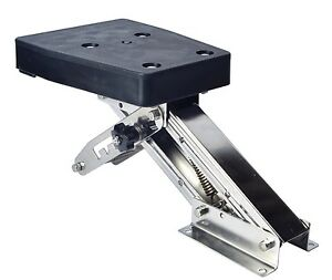 Outboard motor bracket kicker for boat up to 25hp auxilary for Outboard motor brackets for sale