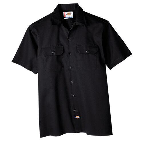 Dickies Mens Short Sleeve Work Uniform Button Up Casual Shirt 1574 Sizes S-6XL