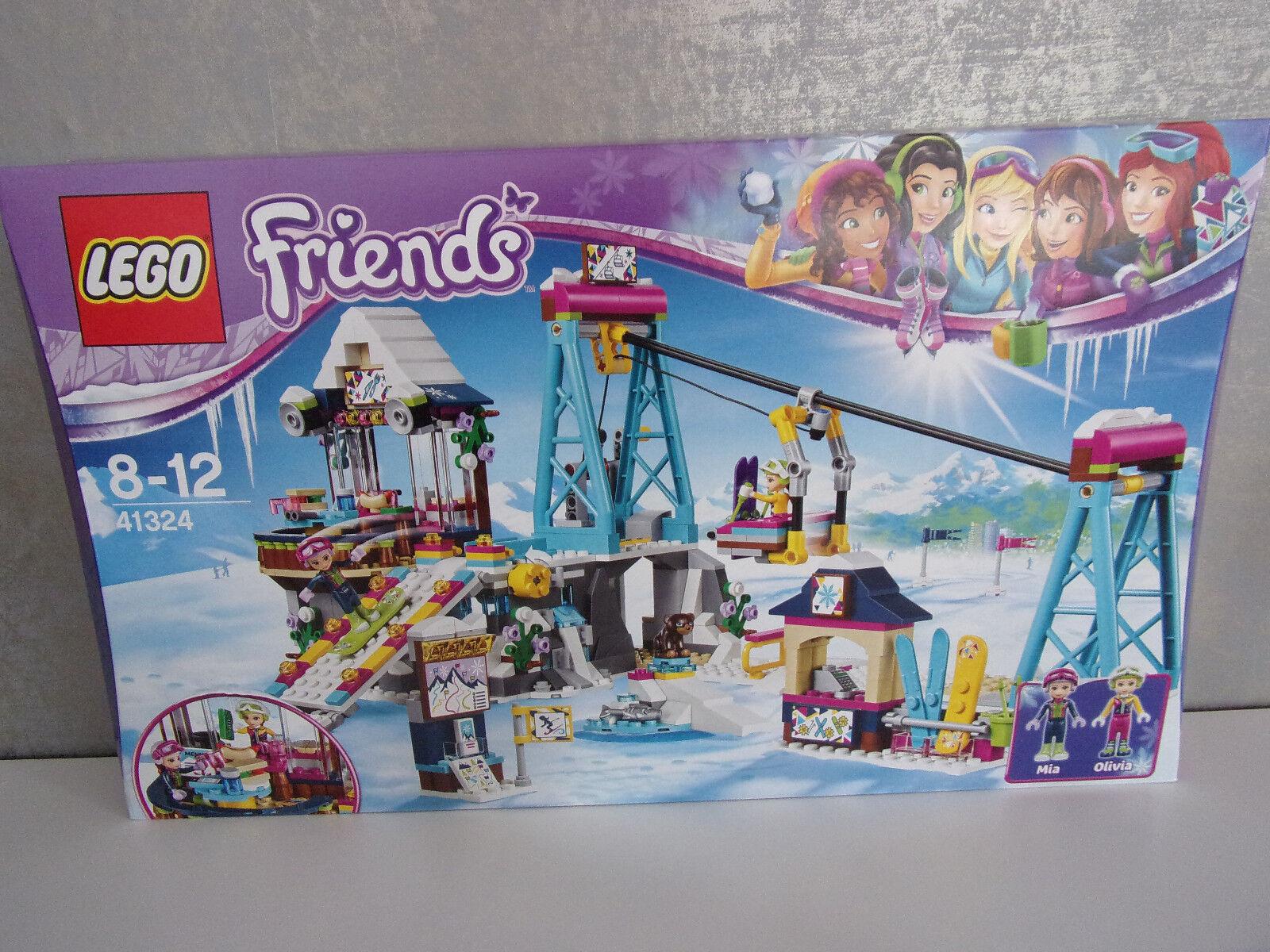 Lego Friends 41324 Skilift im Wintersportort - NEU & OVP