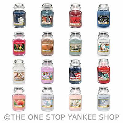 GRANDE JAR-Brand New Genuine Jack Frost Yankee Candle 623 G 22 oz environ 623.68 g