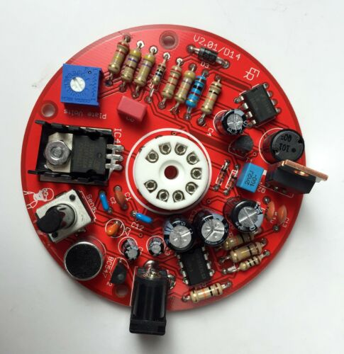 Magic Eye Audio visualizer driver board Suits EM84 tube or Equivalent VU Meter