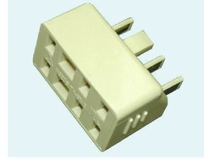 NEW PHONE 610 SOCKET CABLE RJ11 TELEPHONE ADSL MODEM LAN EXTENSION PLUG ADAPTER