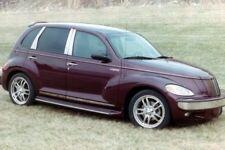 FitsThe Chrysler PT Cruser 2000-2010 6pc. Stainless Steel  Pillar Post W/Triagle