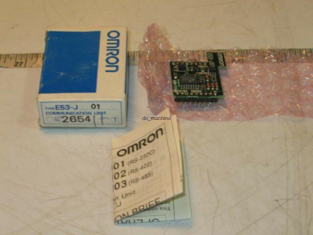 Option Unit for E5CK Series Digital Controllers     USA SELLER Omron E53-Q4Q4
