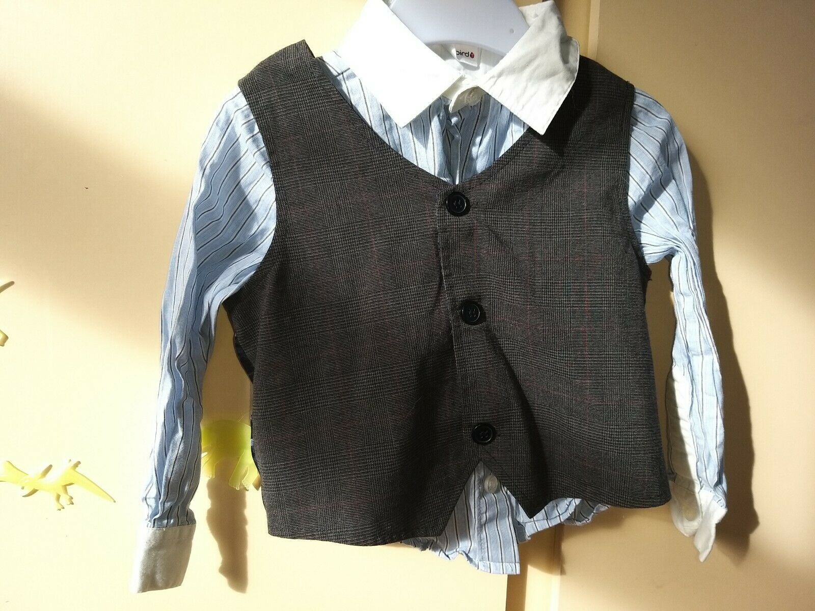 Ladybird Waistcoat 2-3 And Shirt