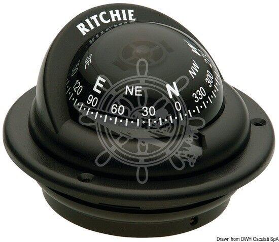 RITCHIE Kompass m.Bügel 2 Trek 2 m.Bügel Zoll 1/4 weiß/weiß 594c45