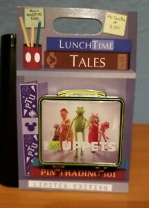 Disney-Parks-Pin-of-the-Month-Lunch-Time-Tales-Muppets-LE-kermit-frog-gonzo