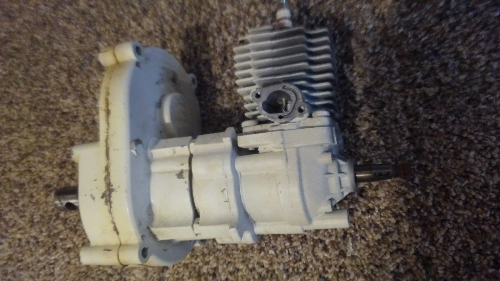 JIFFY LITE MODEL 50 T GEAR BOX  TRANSMISSION AND MOTOR