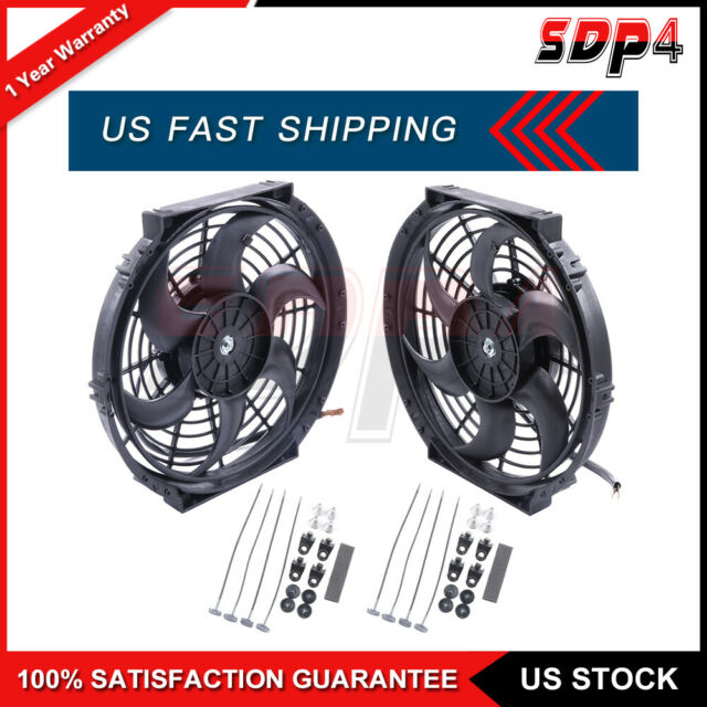 Four Seasons Electric Cooling Fan Kit For 2002 Acura RSX 2