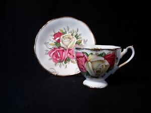 Queen-Anne-Lady-Sylvia-Cup-amp-Saucer